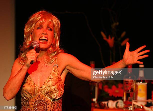 Donna Mills during 'Valley of the Dolls' Reading and DVD Debut Show and After Party at Renberg Theater in Hollywood California United States