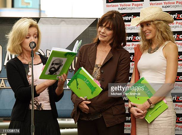 Donna Mills Linda Gray and Marla Maples during The Screen Actors Guild Presents 'Premiere Literary Event' at The Grove in Los Angeles California...