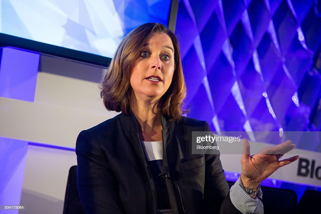 Donna Morris, senior vice president of customer and employee experience at Adobe Systems Inc., speaks during the Bloomberg Breakaway Summit in New York, U.S., on Wednesday, May 25, 2016. At the inaugural event, participants will hear from corporate leaders investors and government officials on the most crucial issues that impact their ability to find new markets, win over investors, recruit top talent, protect data, and more. Photographer: Michael Nagle/Bloomberg via Getty Images