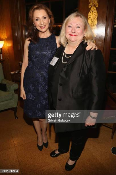 Donna Murphy and Rosemarie Dackerman attend Single Parent Resource Center's 2017 Fall Fete at Cosmopolitan Club on October 18 2017 in New York City
