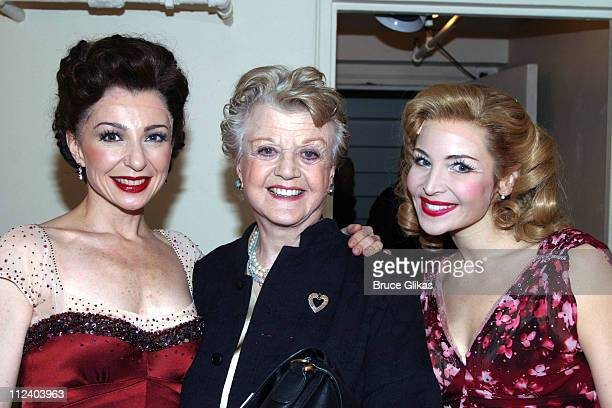 Donna Murphy Angela Lansbury and Jennifer Westfeldt