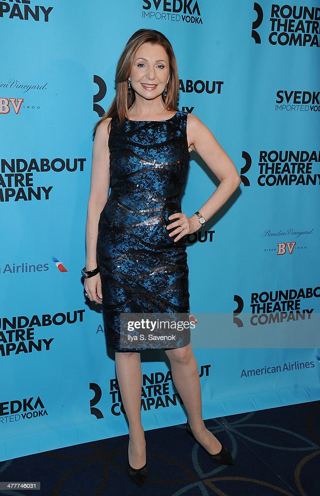 <a gi-track='captionPersonalityLinkClicked' href=/galleries/search?phrase=Donna+Murphy&family=editorial&specificpeople=210723 ng-click='$event.stopPropagation()'>Donna Murphy</a> attends Roundabout Theatre Company's 2014 Spring Gala at Hammerstein Ballroom on March 10, 2014 in New York City.