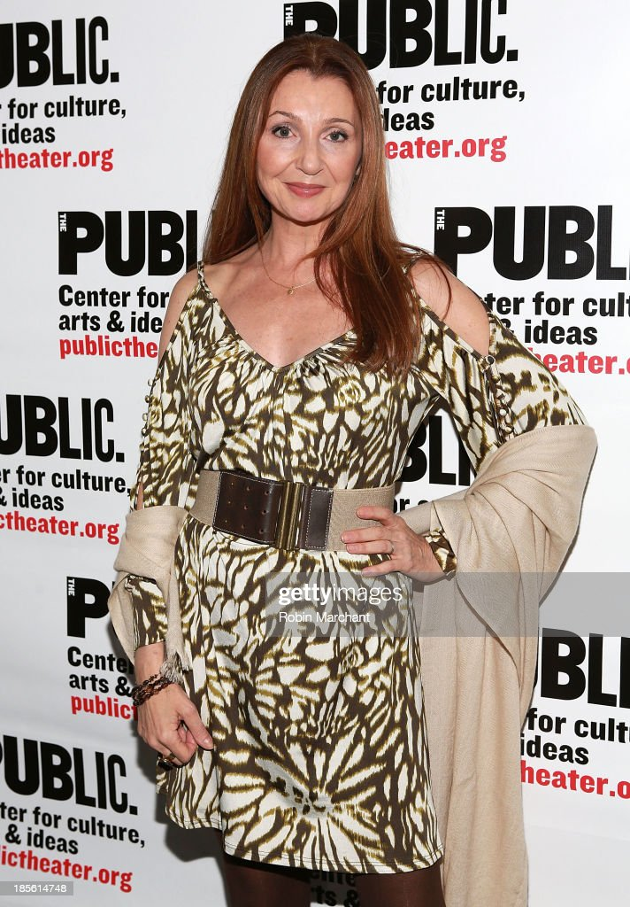 <a gi-track='captionPersonalityLinkClicked' href=/galleries/search?phrase=Donna+Murphy&family=editorial&specificpeople=210723 ng-click='$event.stopPropagation()'>Donna Murphy</a> attends the opening night celebration of 'Fun Home' at The Public Theater on October 22, 2013 in New York City.