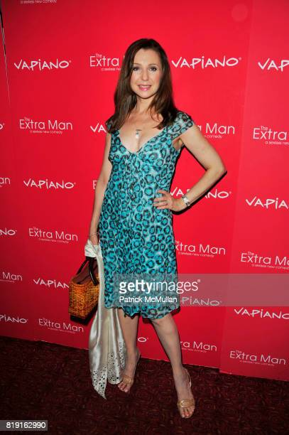 Donna Murphy attends Vapiano hosts the New York Premiere of THE EXTRA MAN red carpet arrivals and afterparty at Village East Cinema and Vapiano NYC...