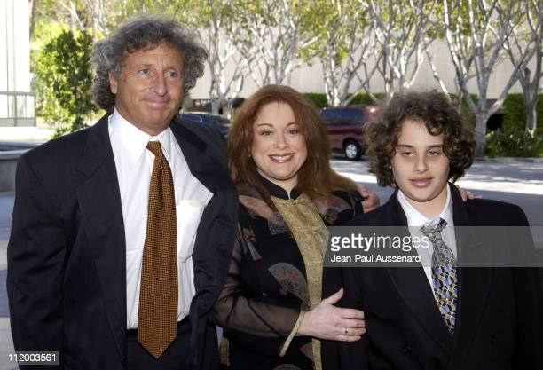 Donna Pescow husband son during 30th Annual Daytime Emmy Awards Creative Arts Presentation at Universal Sheraton in Universal City California United...