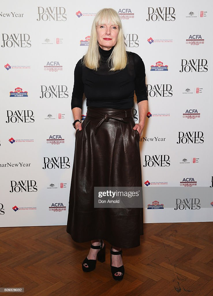 Donna Player arrives ahead of the Lunar New Year Designer Collection Launch Party at David Jones Elizabeth Street Store on February 10, 2016 in Sydney, Australia.