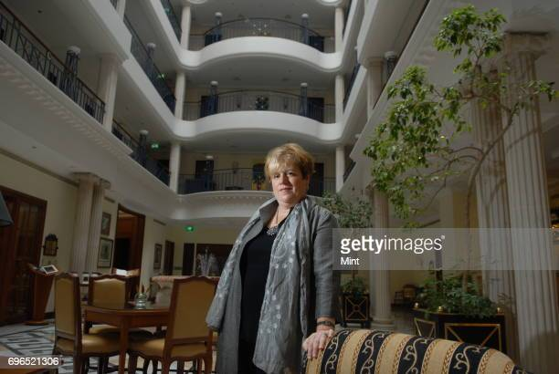Donna S Morea President of US Europe and Asia at CGI Group photographed at Hotel ITC Windsor Manner in Bangalore