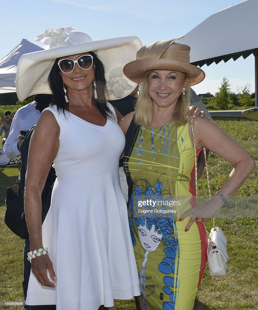 Donna Solloway and Katlean De Monchy attend the Naming Celebration For Stewart F. Lane & Bonnie Comley Event Lawn at the Parrish Art Museum on August 29, 2014 in Water Mill, New York.
