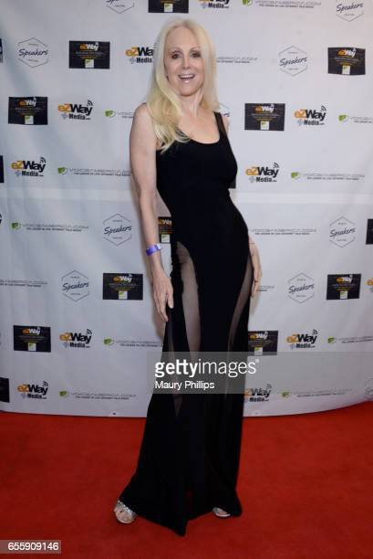Donna Spangler arrives at the 1st Annual Influencers Unite Gala and Eric Zuley birthday celebration on March 18 2017 in Dana Point California