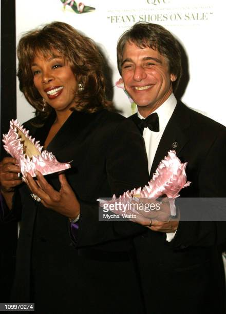 Donna Summer and Tony Danza during 11th Annual QVC FFany Shoes on Sale Benefiting Breast Cancer Research and Education at Hammerstien Ballroom in New...