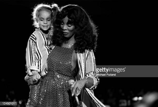 Donna Summer appearing at the Unicef concert United Nations New York 9th January 1979