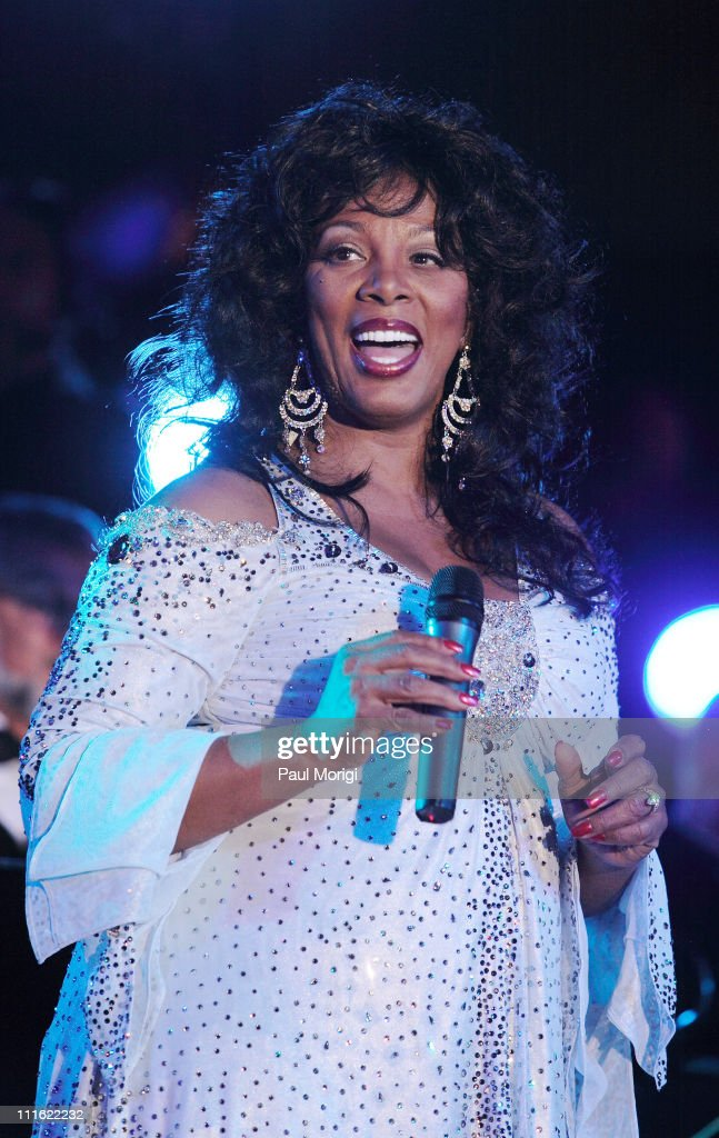 Donna Summer during An Evening with Larry King and Friends at The Ritz Carlton in Washington, DC, United States.