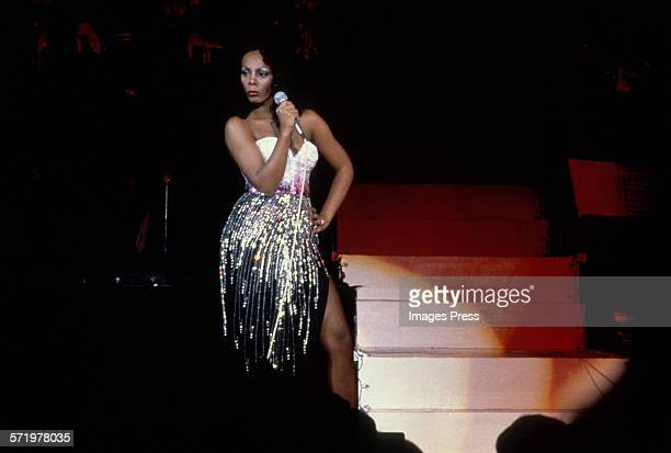 Donna Summer in concert circa 1978