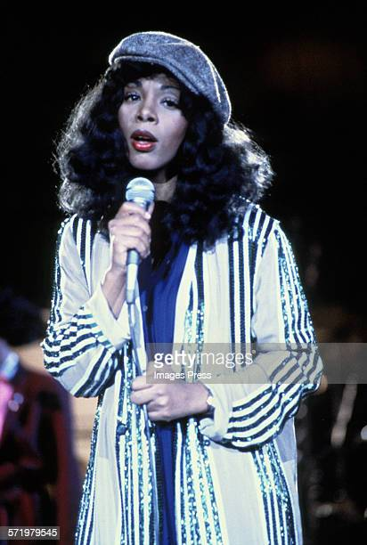 Donna Summer in concert circa 1979 in New York City