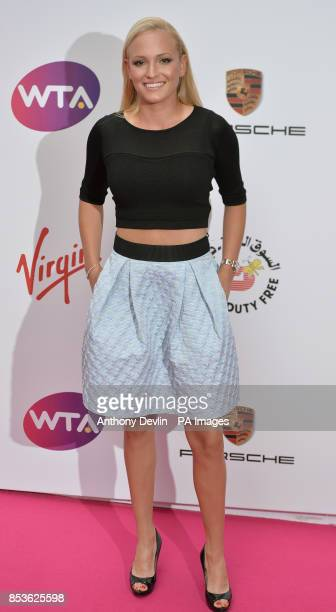 Donna Vekic attending the WTA PreWimbledon Party at The Roof Gardens Kensington London