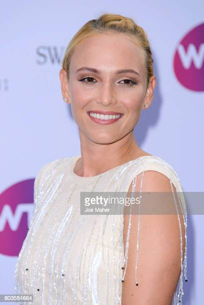 Donna Vekic attends the WTA PreWimbledon party at Kensington Roof Gardens on June 29 2017 in London England