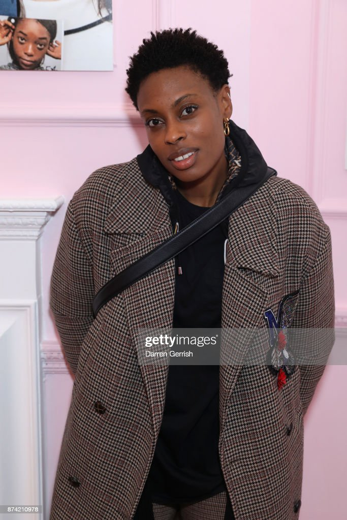 Donna Wallace attends the Glossier UK launch party on November 14, 2017 in London, England.
