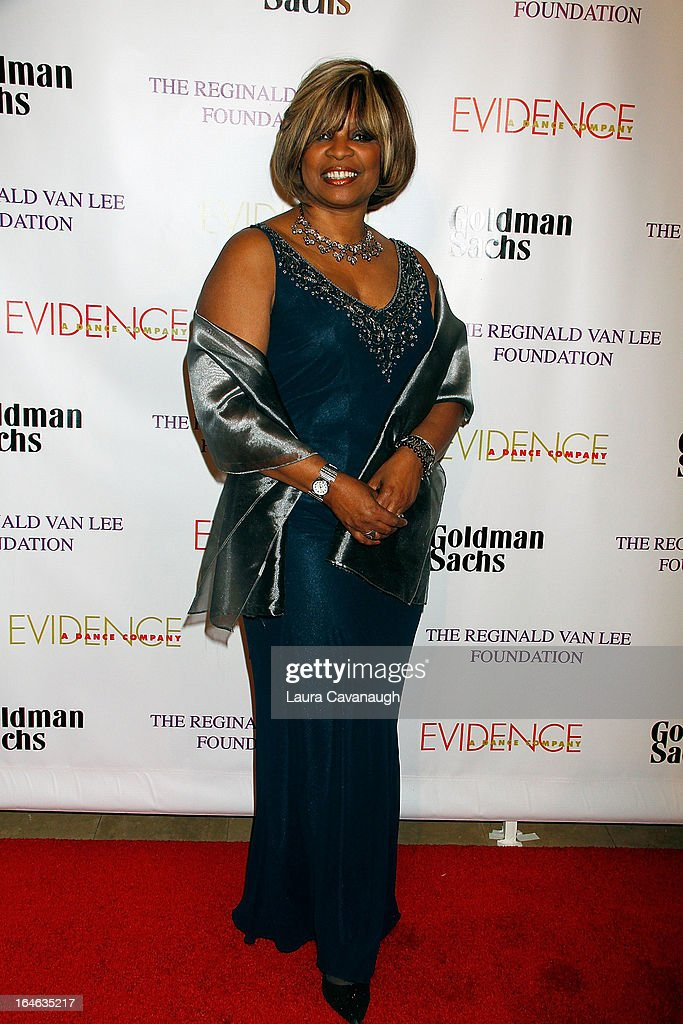 Donna Williams attends the Evidence, A Dance Company 9th annual Torch Ball at The Plaza Hotel on March 25, 2013 in New York City.
