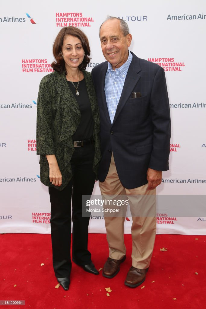 Donna Zaccaro (L) and John Zaccaro attend the 21st Annual Hamptons International Film Festival on October 11, 2013 in East Hampton, New York.