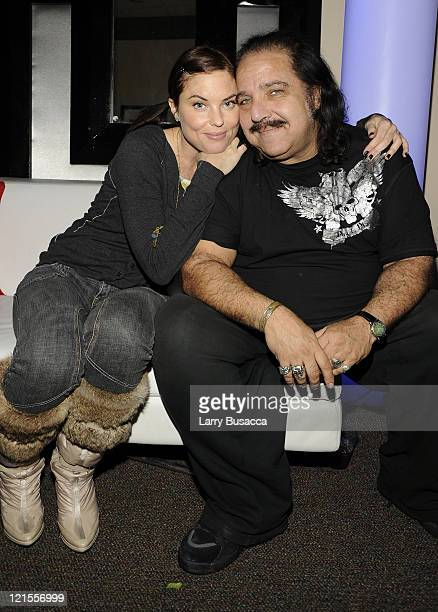 Donnamarie Recco and Ron Jeremy attend the 'Finding Bliss' After Party at Hollywood Life House on January 18 2009 in Park City Utah