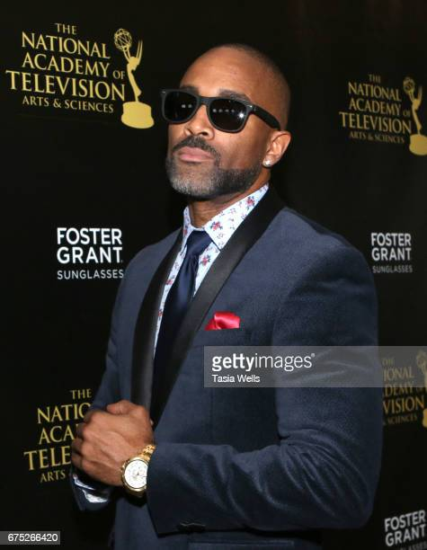 Donnell Turner attends the 44th Daytime Emmy Awards with Foster Grant on April 30 2017 in Los Angeles California