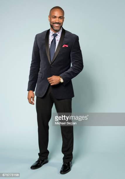 Donnell Turner poses for a portrait at Portraits by The Artists Project Sponsored by Foster Grant on during the 44th Daytime Emmy Awards on April 30...