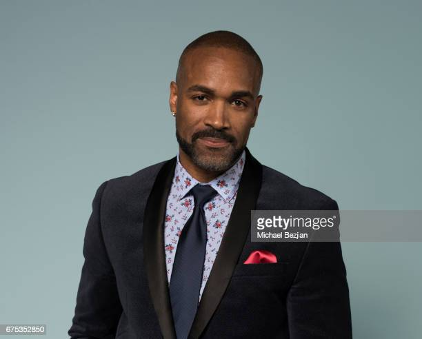 Donnell Turner poses for portrait at The 44th Daytime Emmy Awards Portraits by The Artists Project Sponsored by Foster Grant on April 30 2017 in Los...