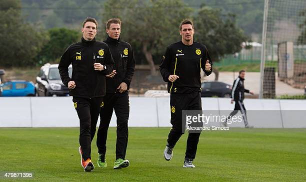 Donnerstag 1 Fussball Bundesliga Saison 13/14 in La Manga / SpanienBV Borussia Dortmund im Trainingslager La Manga in SpanienCoTrainer Florian...