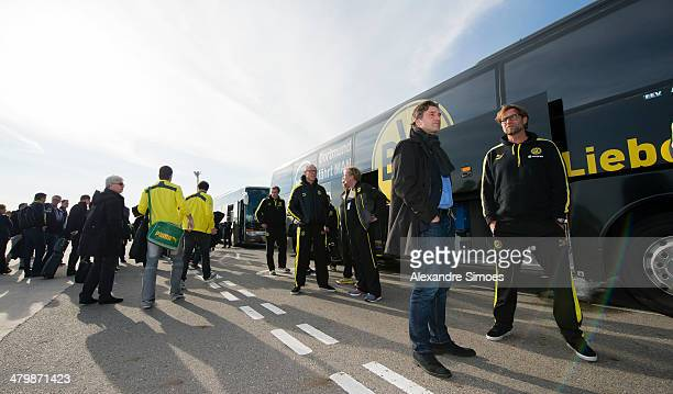 Donnerstag 1 Fussball Bundesliga Saison 13/14 in La Manga / SpanienBV Borussia Dortmund im Trainingslager La Manga in SpanienSportdirektor Michael...