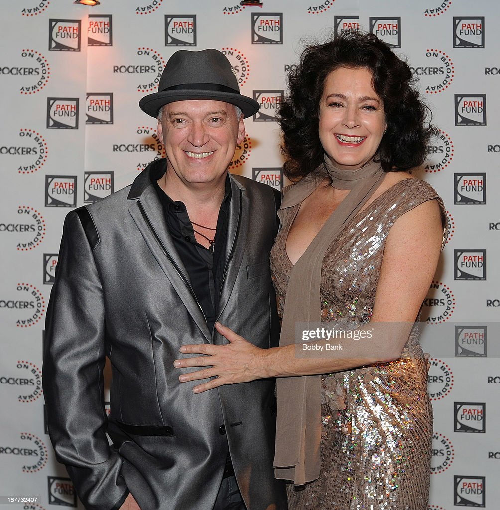 Donnie Kehr and Sean Young attends 2013 Rockers on Broadway at Le Poisson Rouge on November 11, 2013 in New York City.