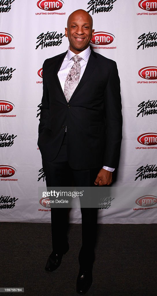 Donnie McClurkin attends the 28th Annual Stellar Awards at Grand Ole Opry House on January 19, 2013 in Nashville, Tennessee.
