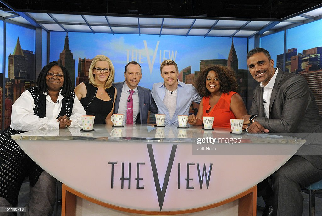 THE VIEW - (6.24.14) Donnie Wahlberg and Rick Fox are today's guest co-hosts. Actor Noah Wyle and Derek Hough are guests. 'The View' airs Monday-Friday (11:00 am-12:00 pm, ET) on the ABC Television Network.