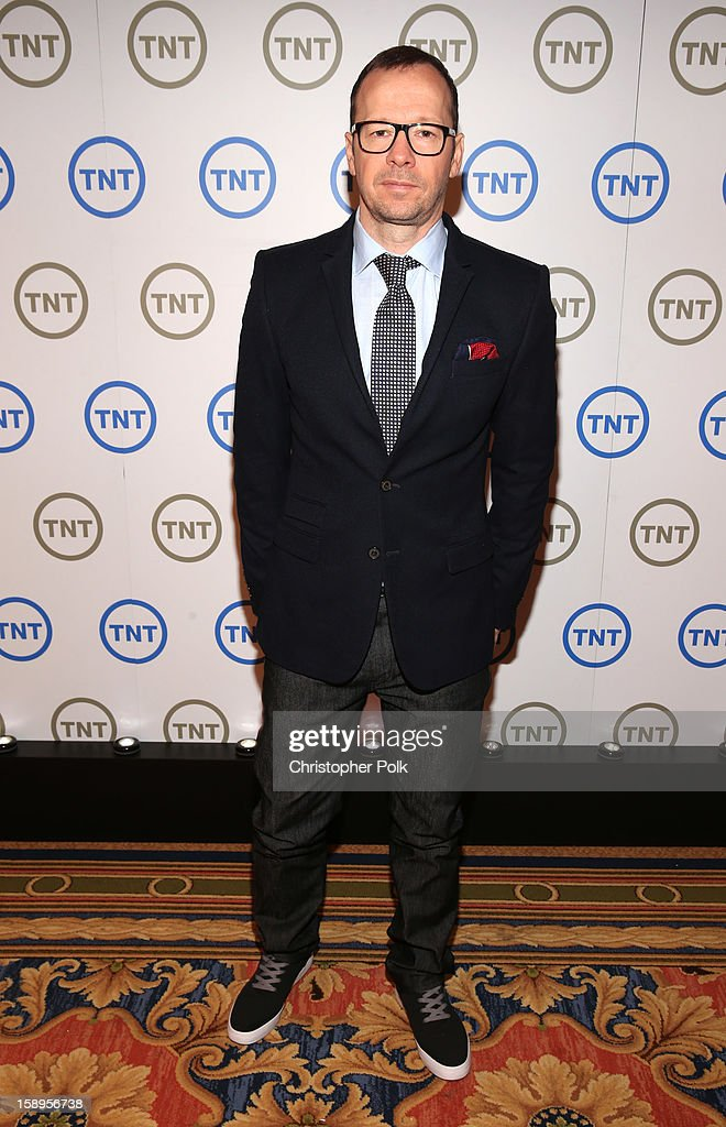 Donnie Wahlberg, Executive Producer of 'Boston's Finest', attends Turner Broadcasting's 2013 TCA Winter Tour at Langham Hotel on January 4, 2013 in Pasadena, California. 23128_001_CP_0327.JPG