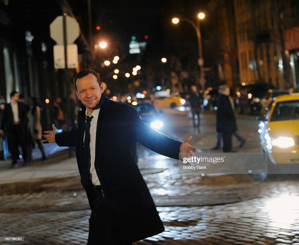 <a gi-track='captionPersonalityLinkClicked' href=/galleries/search?phrase=Donnie+Wahlberg&family=editorial&specificpeople=220537 ng-click='$event.stopPropagation()'>Donnie Wahlberg</a> filming on location for 'Blue Bloods' on March 15, 2013 in New York City.