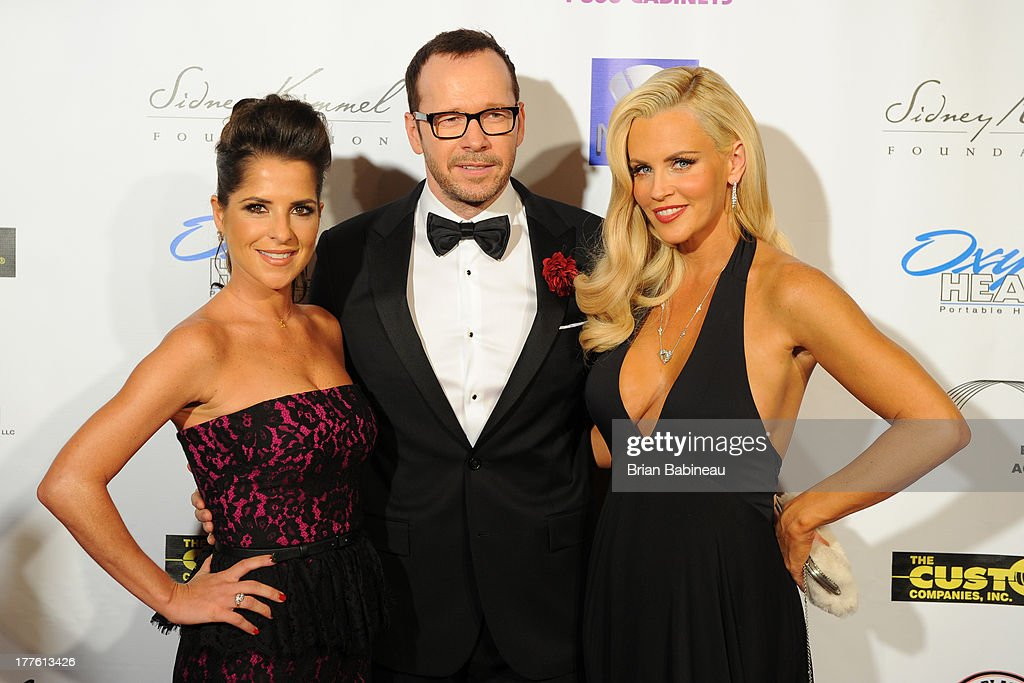 <a gi-track='captionPersonalityLinkClicked' href=/galleries/search?phrase=Donnie+Wahlberg&family=editorial&specificpeople=220537 ng-click='$event.stopPropagation()'>Donnie Wahlberg</a>, <a gi-track='captionPersonalityLinkClicked' href=/galleries/search?phrase=Kelly+Monaco&family=editorial&specificpeople=3958054 ng-click='$event.stopPropagation()'>Kelly Monaco</a> and <a gi-track='captionPersonalityLinkClicked' href=/galleries/search?phrase=Jenny+McCarthy&family=editorial&specificpeople=202900 ng-click='$event.stopPropagation()'>Jenny McCarthy</a> attend the Dancing with the Stars Charity event hosted by <a gi-track='captionPersonalityLinkClicked' href=/galleries/search?phrase=Jenny+McCarthy&family=editorial&specificpeople=202900 ng-click='$event.stopPropagation()'>Jenny McCarthy</a> on August 24, 2013 at Hotel Baker in St Charles, Illinois.