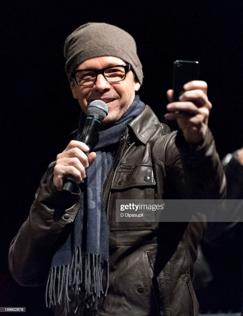 <a gi-track='captionPersonalityLinkClicked' href=/galleries/search?phrase=Donnie+Wahlberg&family=editorial&specificpeople=220537 ng-click='$event.stopPropagation()'>Donnie Wahlberg</a> of New Kids on the Block attends the Package Tour Special Announcement at Irving Plaza on January 22, 2013 in New York City.