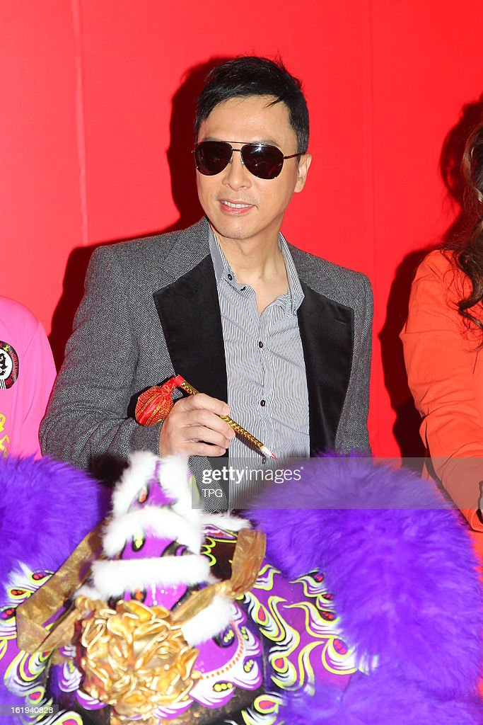 Donnie Yen attended commercial activity on Sunday February 17, 2013 in Hong Kong, China.