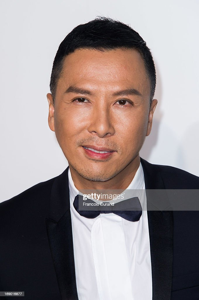 Donnie Yen attends the Dior Cruise Collection 2014 on May 18 2013 in Monaco Monaco