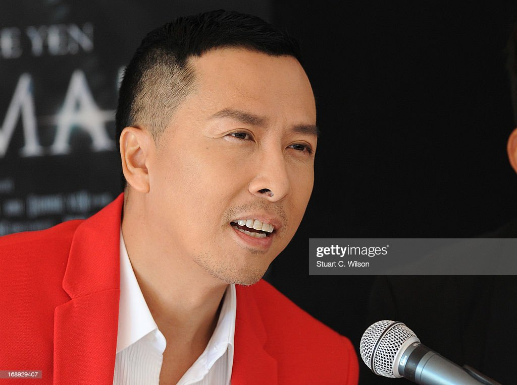 <a gi-track='captionPersonalityLinkClicked' href=/galleries/search?phrase=Donnie+Yen&family=editorial&specificpeople=235559 ng-click='$event.stopPropagation()'>Donnie Yen</a> attends the 'Iceman Cometh 3D' Photocall and Press conference at the 66th Annual Cannes Film Festival on May 17, 2013 in Cannes, France.
