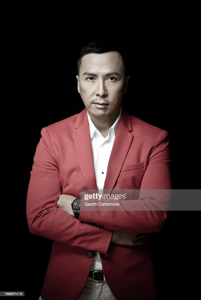 Donnie Yen during a portrait session at The 66th Annual Cannes Film Festival at the Palais des Festivals on May 17 2013 in Cannes France