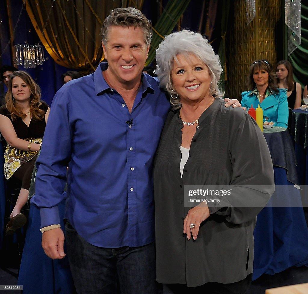 Paula deen photo getty images - Donny Deutsch And Paula Deen On The Set Of Her Show Paula S Party At