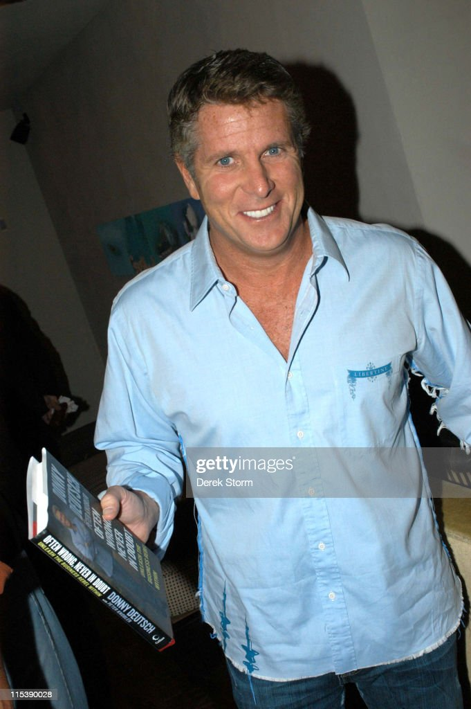 Donny Deutsch during Donny Deutsch Signs His Book 'Often Wrong, Never in Doubt: Unleash the Business Rebel Within' at the Chambers Hotel in New York City - October 11, 2005 at Chambers Hotel in New York City, New York, United States.
