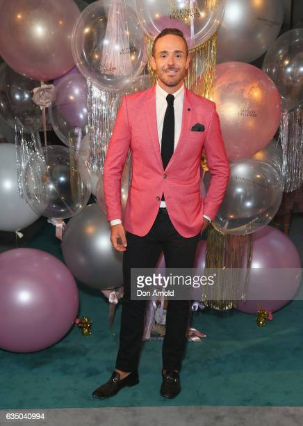 Donny Galella arrives ahead of the Affinity Diamonds Launch Event on February 13 2017 in Sydney Australia