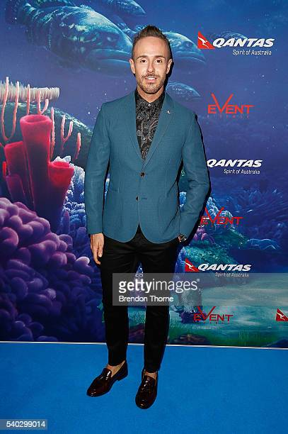 Donny Galella arrives ahead of the Finding Dory Australian Premiere at Event Cinemas George Street on June 15 2016 in Sydney Australia
