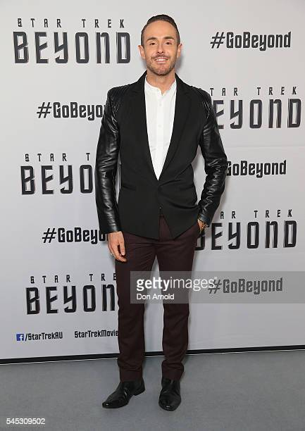 Donny Galella arrives ahead of the Star Trek Beyond Australian Premiere on July 7 2016 in Sydney Australia