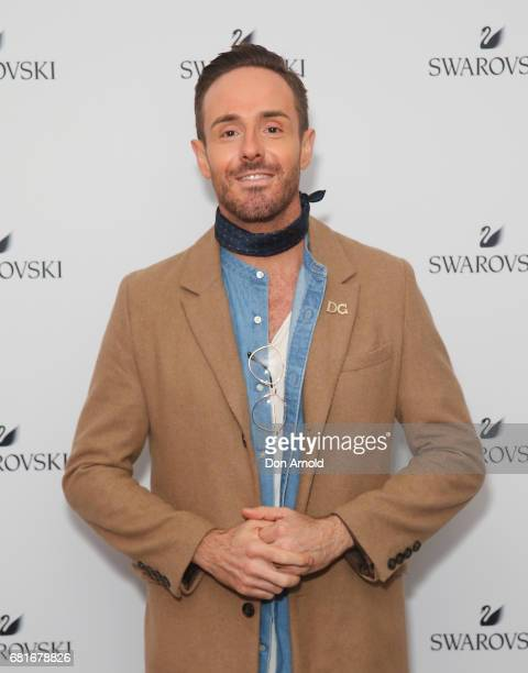 Donny Galella arrives ahead of the Swarovski Urban Fantasy Collection Launch on May 11 2017 in Sydney Australia