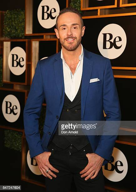 Donny Galella arrives at the launch of new online lifestyle destination'Be' at David Jones Elizabeth Street Store on July 14 2016 in Sydney Australia