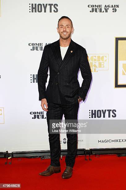 Donny Galella arrives at the 'Magic Mike XXL' Australian premiere on July 6 2015 in Sydney Australia