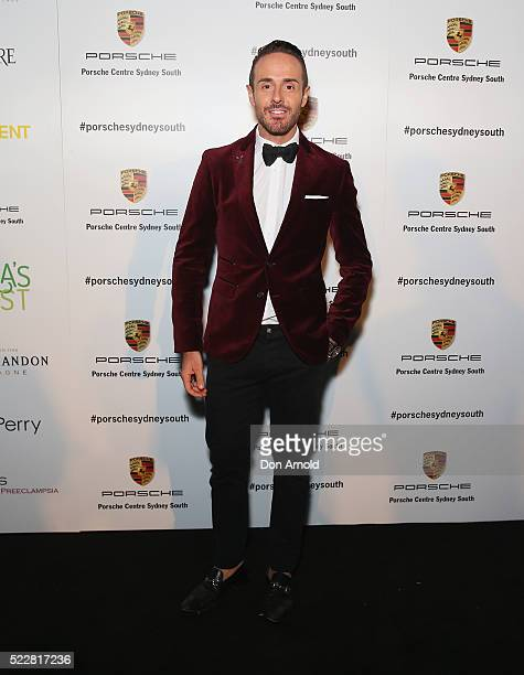 Donny Galella attends an event at the Porsche Centre on April 21 2016 in Sydney Australia
