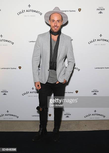Donny Galella attends the launch of Culet Automatiq on April 27 2016 in Sydney Australia